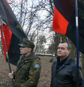 Вінничани вшанували пам'ять сотні безневинних жінок, закатованих більшовиками у березні 1944 року