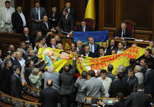 Верховна Рада таки прийняла у першому читанні законопроект про мови