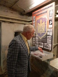 В ізоляторі КДБ у Тернополі показали бронежилет Ярослава Стецька