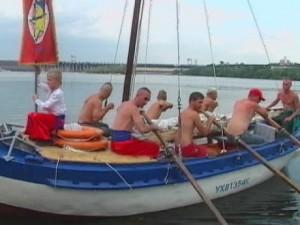 Українські козаки вирушили в експедицію по Дніпру у Чорне море