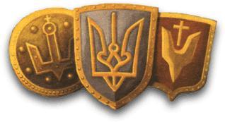Державний герб України. Сакральний символ давніх аріїв.