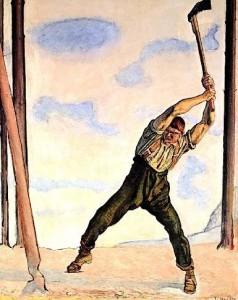Вирубується легендарний повстанський Чорний ліс. За таке отаман Чучупака колись карав на горло…