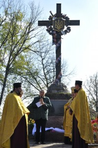 На Волині відкрили пам'ятник бійцям УПА, полеглим у бою проти фашистів