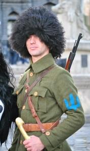 У Львові реконструювали битву 1918 року між українськими і польськими солдатами