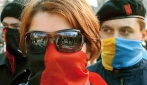 На місці колишньої школи УПА вперше проходили вишкіл російськомовні українські націоналісти