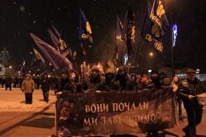 По Україні пройшли рекордні мітинги і марші на честь Героїв Крут