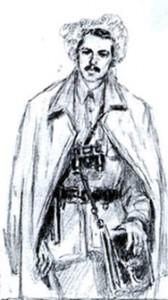 Кость Степовий-Блакитний, отаман Степової дивізії і Холодного Яру