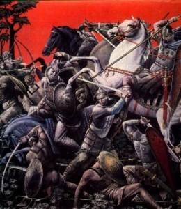 24 березня – рівно 900 років від перемоги князя Мономаха над половцями у битві на Солониці