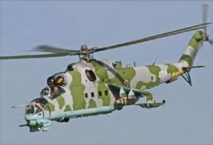 Українські гелікоптери Місії ООН патрулюють небо над африканським Конго