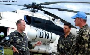 У бойових умовах Африки українські вертолітники тренувалися знищувати ворожі автоколони в горах