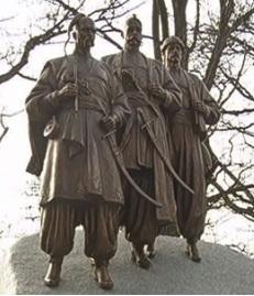 У австрійському Відні відкрили пам'ятник українським козакам
