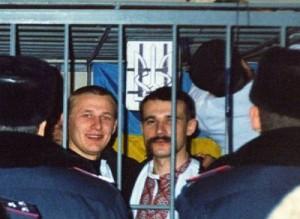 """На могилі золотоніського унсовця, в'язня у """"справі 9 березня"""", встановили козацького хреста"""