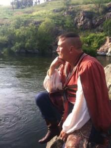 Брати-письменники Капранови знімаються на Черкащині у фільмі Іллєнка за віршем Шевченка…