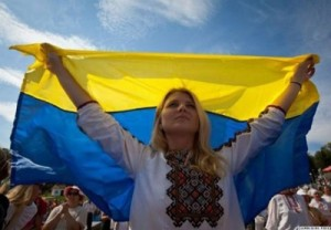 Два кольори мої. Про історію українського прапора
