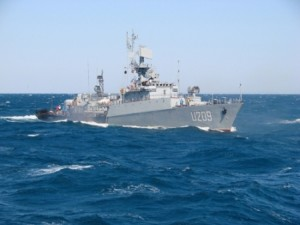 """Корвет ВМС України """"Тернопіль"""" вирушив у Середземне море для участі в антитерористичній операції НАТО"""