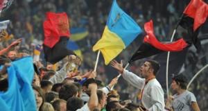 Федерація футболу України вимагає від FARE поважати прапор УПА