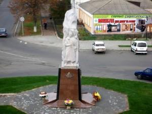 У Тальному на Черкащині встановили пам'ятник чотирьом гетьманам