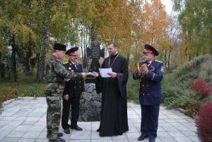 На будівництво холодноярського козацького храму Петра Калнишевського передали грошову пожертву з Австралії