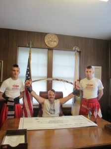 Козаки з Федерації Бойового Гопака повернулися з американського турне