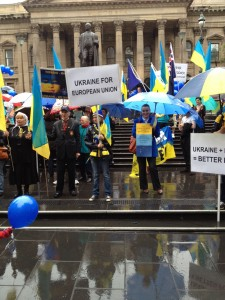 Євромайдан в Мельбурні підтримує Євромайдан у Києві
