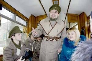 У Вінниці в трамваї їздили… вояки УНР