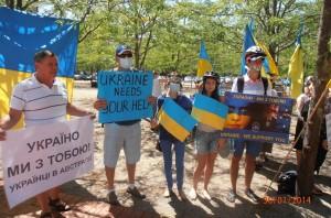Українці Австралії горді рішенням офіційного уряду Австралії, який занепокоєний ситуацією в Україні