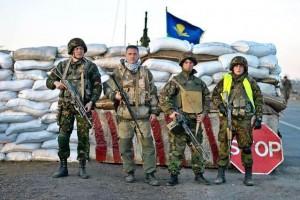 """На межі з Кримом """"вростають у землю"""" блок-пости українських військових"""