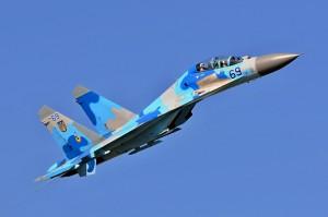 Російські літаки двічі порушили повітряний кордон України і побували у прицілі наших Су-27