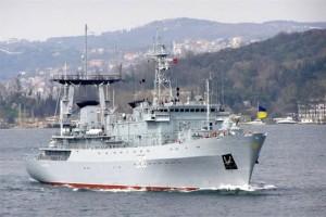 """Корабель ВМС України """"Славутич"""" дав силову відсіч озброєним нападникам"""