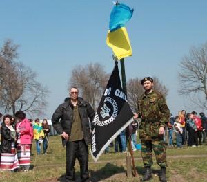 На Чигиринщині заклали сквер, присвячений Героям Майдану