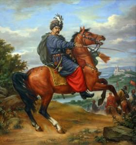 Згадуючи, як Іван Богун нищив ворогів, сучасні вінницькі козаки тренувалися стріляти…