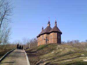 Козацький храм, зведений у Каневі до 200-річчя Шевченка, освятили священики чотирьох конфесій