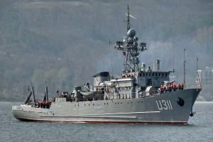 На Донузлаві досі заблоковані сім кораблів ВМС України