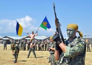 Десантники розгромили блок-пост проросійських бойовиків під Слов'янськом