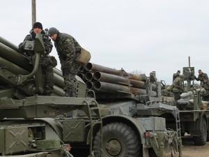Реактивні артилерійські підрозділи вирушили у визначені райони