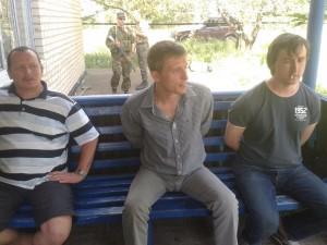 """У полоні – бойовики, які хотіли обстріляти аеродром у Краматорську і росіяни, які хотіля зняти """"пабєду павстанцев"""" на відео"""