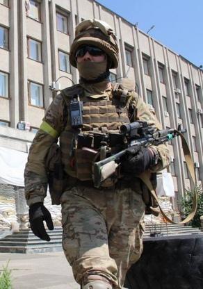 """У Дзержинську на Донеччині розгромлено бойовиків. У місті закінчується """"зачистка"""""""