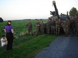 Сучасні українські танкісти отримали подарунок… від командира Чорних запорожців