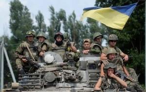 Українським десантникам здалися в полон одночасно пів сотні кавказців, які воювали на боці сепаратистів