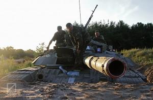 """Бійці батальйону """"Луганськ-1″ спільно із спецпідрозділами """"Омега"""" та """"Ягуар"""" ліквідували 40 сепаратистів у бою на березі Сіверського Донця"""