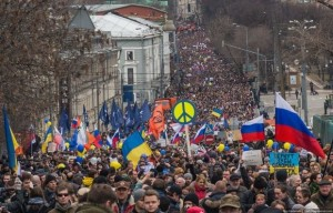 У Москві, Петербурзі та багатьох інших містах Росії пройшли Марші проти війни в Україні