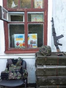 """Заступник командира батальйону """"ОУН"""" стверджує: найкращий оберіг у бою – це…дитячі малюнки"""