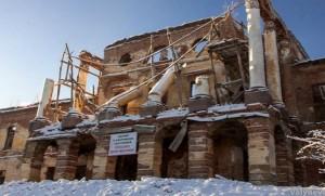 Знамение?! В России под Петербургом рухнул царский дворец Романовых