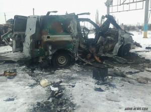 """У трьох знищених автівках бойовиків були """"Бетмен"""" і його охорона"""