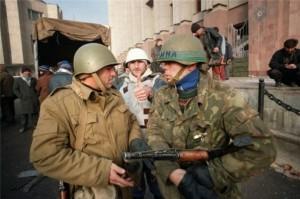 В часи війни Ічкерії проти Москви одну із вулиць Грозного назвали на честь росіянина – УНСОвця з українського Харкова