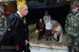 У Львові на Різдво у ролі царя Ірода був Путін