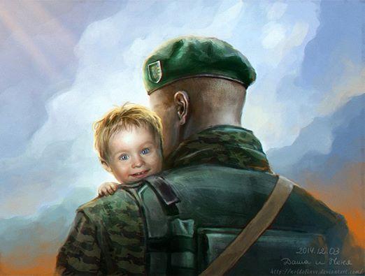 Полька з Литви присвятила серію малюнків подвигам українських прикордонників у зоні АТО