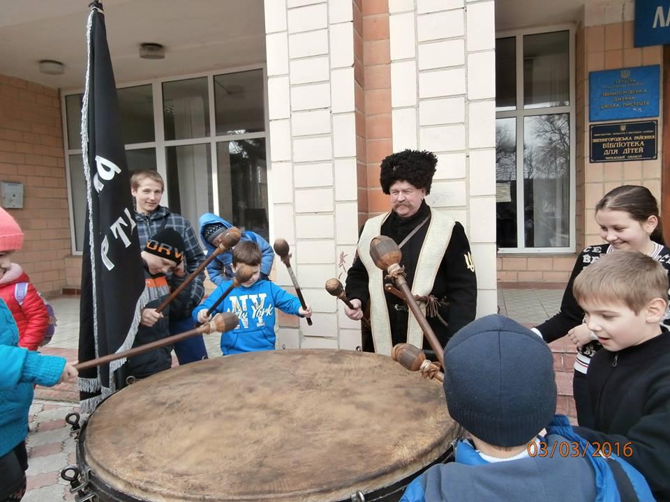 У Звенигородці на Черкащині вшанували отамана Семена Гризла, від дня загибелі якого виповнилося 95 років
