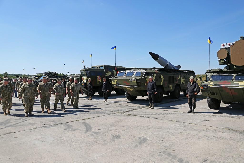 У День Незалежності Києвом пройдуть парадом більше 200 одиниць бойової техніки