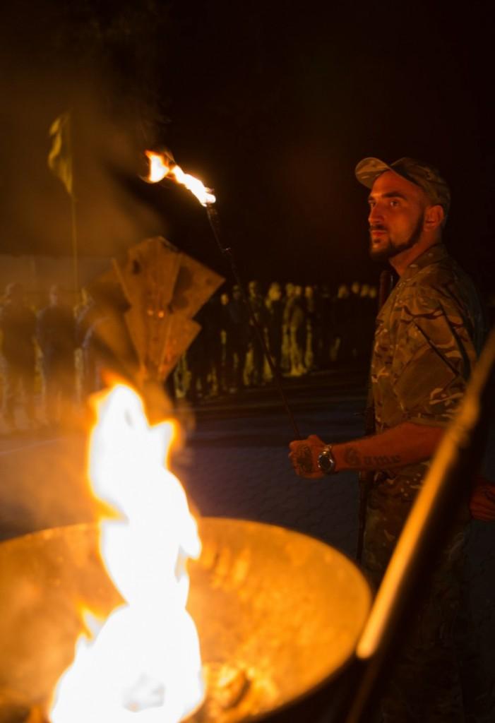 """На базі """"Азову"""" вшанували пам'ять """"Кузьміча"""" – полкового інструктора з Черкас"""